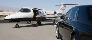 luxury sedan airport pickup virginia